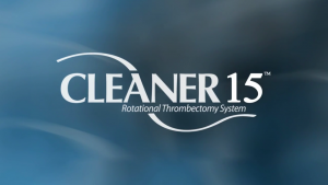 Watch CLEANER15 Rotational Thrombectomy Video